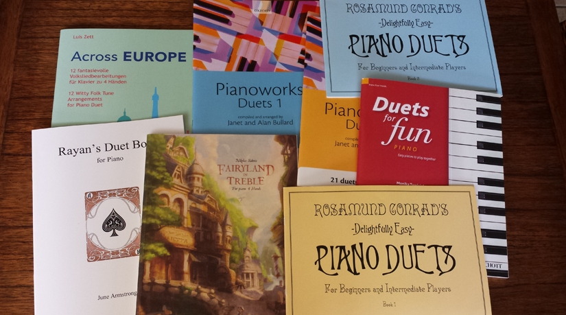 8 Great Piano Duet Books