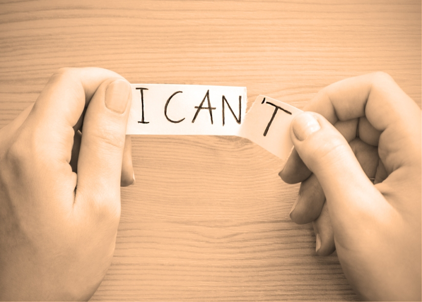 """10 Ways to turn """"I can't"""" into """"Ican"""""""