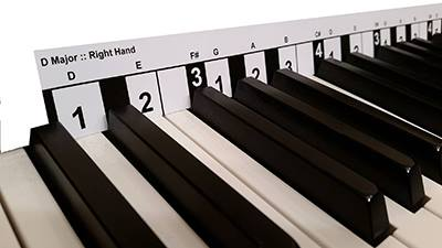 Piano Scale Finder