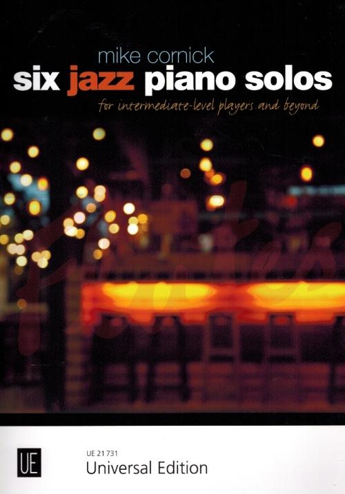 Cornick-Six-jazz-piano-solos