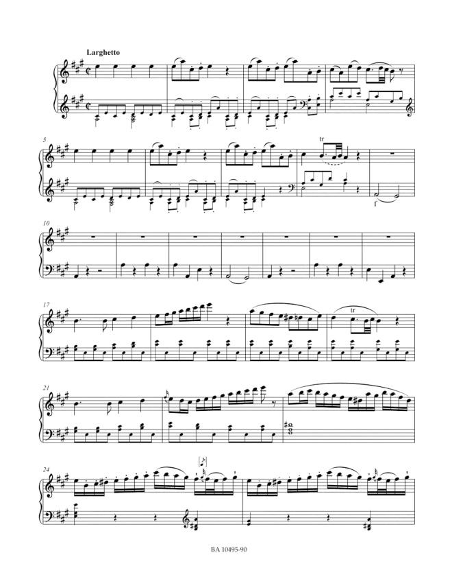 BA 10495-90 Klavierkonzert Nr 26 KV 537 Solo-Klavier Korr 3