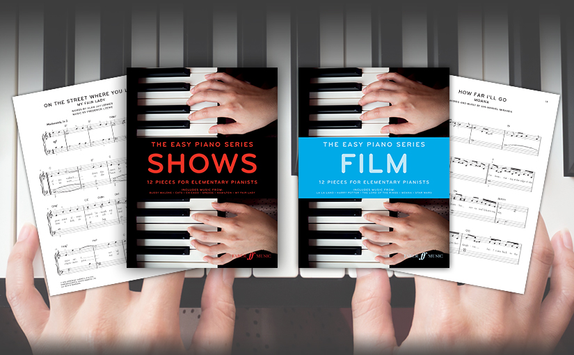 """Easy Piano Series: """"Film"""" and""""Shows"""""""