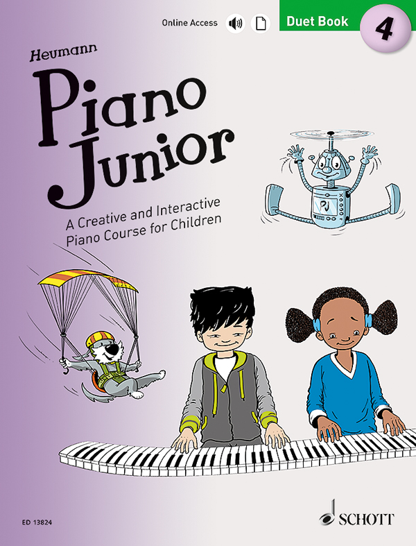 Piano-Junior-4-Duets