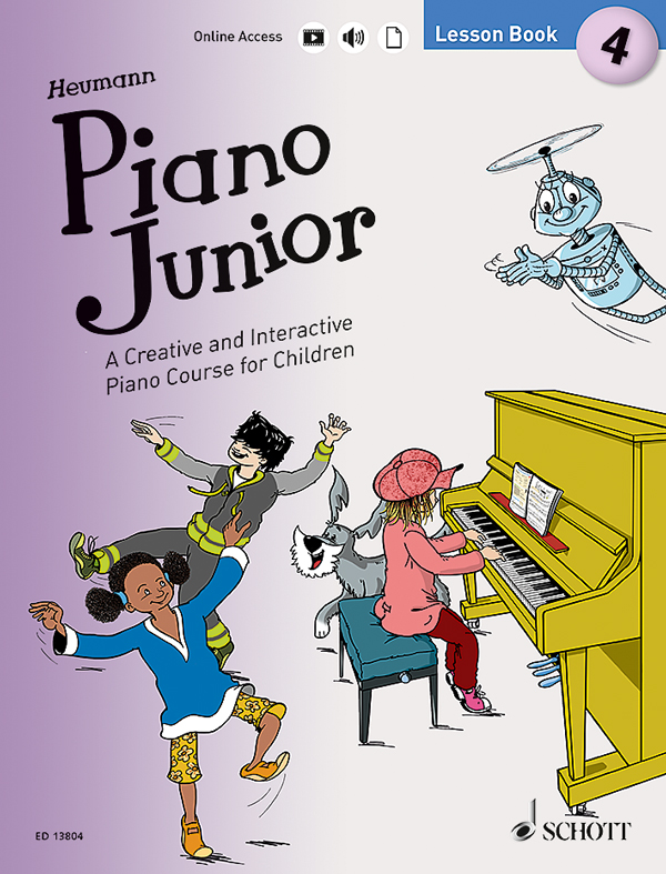 PIano Junior 4 Lesson Book