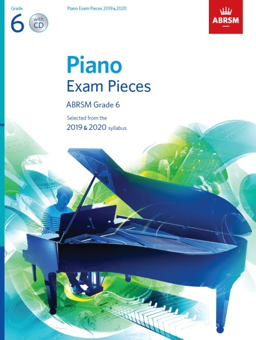 Piano Grade 6 with CD