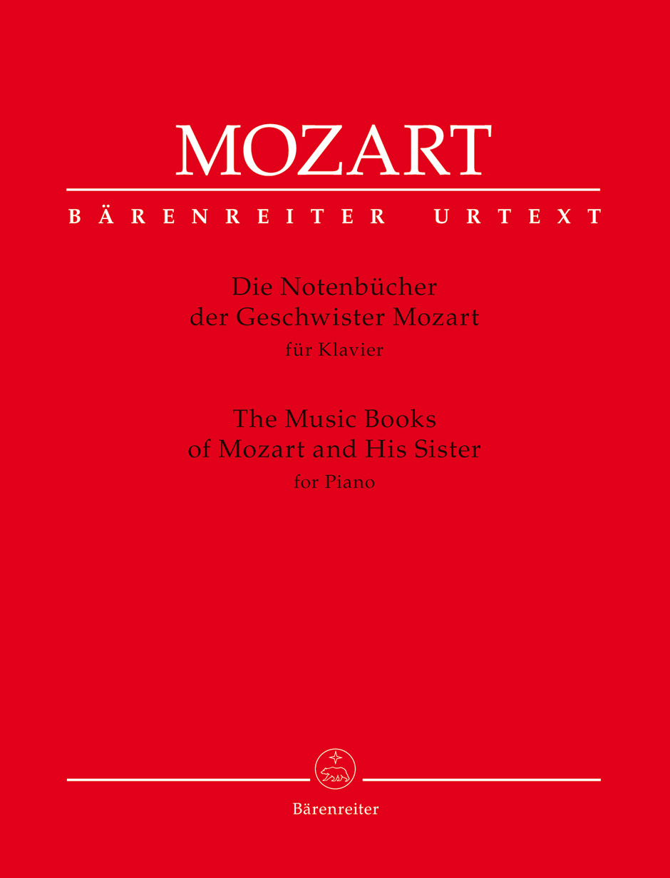 The Music Books of Mozart and his Sister