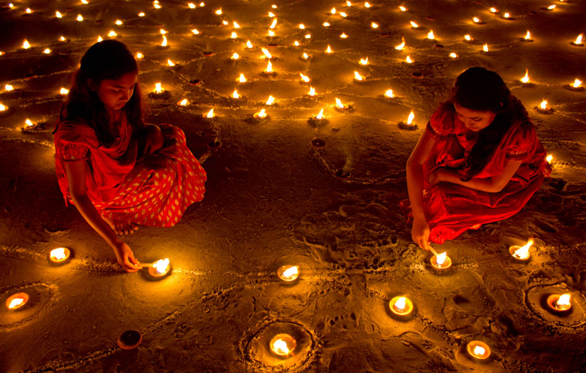 Illuminating Diwali