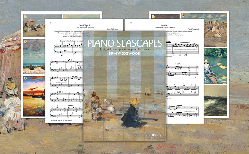 """Pam Wedgwood's """"Piano Seascapes"""""""