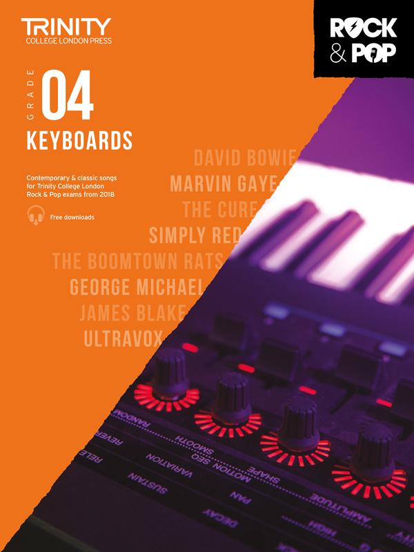 Keys Session Skills for Keyboards Grades 3-5 Trinity College London Rock /& Pop