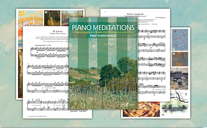Pam Wedgwood: PianoMeditations