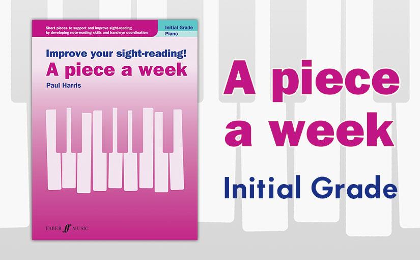 """A Piece a Week: """"InitialGrade"""""""